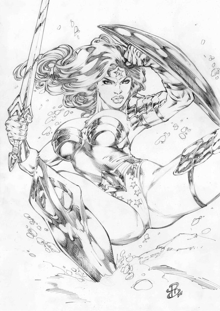 RC WonderWoman by renatocamilo