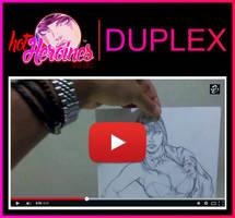 RC SoloHeroinesSoloGirls Pinups Duplex by renatocamilo