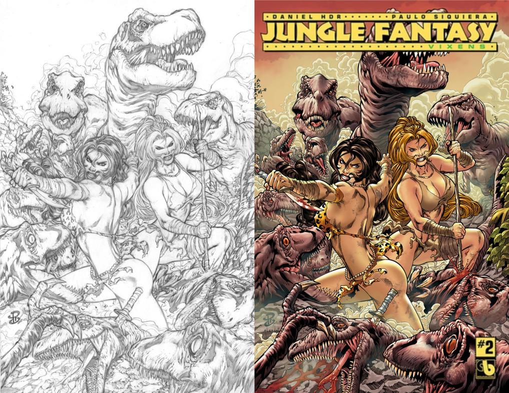 Renato Camilo Jungle Fantasy Cover Avatar Press by renatocamilo