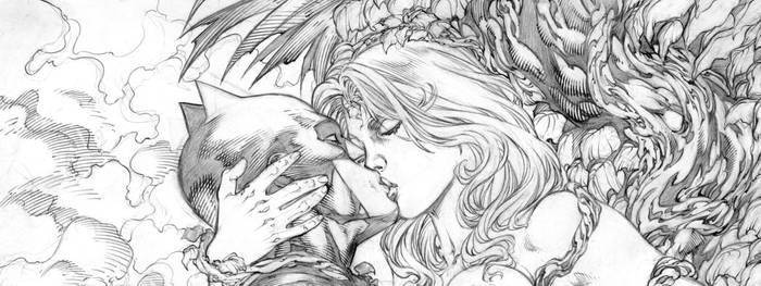 Poison Ivy and Batman Loving!