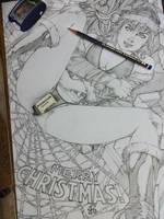Mary Jane Merry Christmas! by renatocamilo