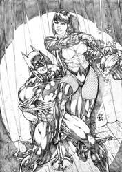 Zatanna and Batman!