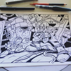 Megaman X VS by Briosso