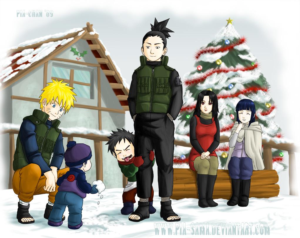 Naruto Christmas '09 by Pia-sama