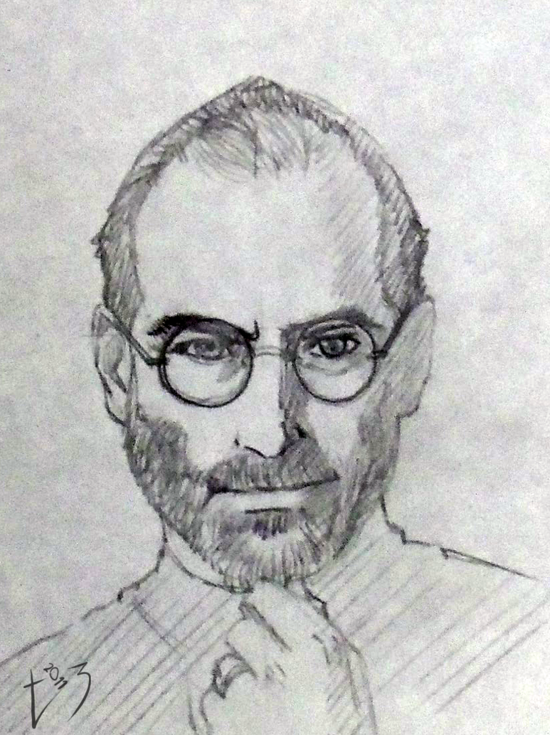 Goodbye Steve Jobs - A Genius by Pia-sama