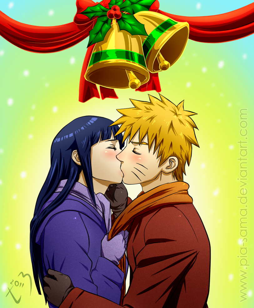 NaruHina Christmas 2011 by Pia-sama