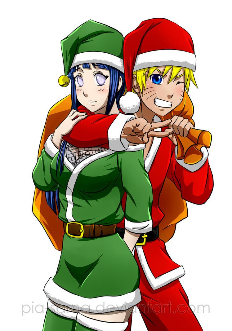 Merry NaruHina Christmas 2012 by Pia-sama