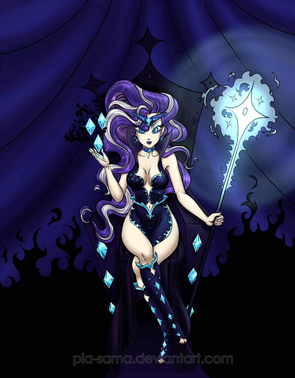 Nightmare Rarity by Pia-sama