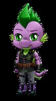 Chibi Anthro Spike