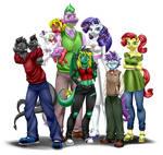 Commission - Big Family