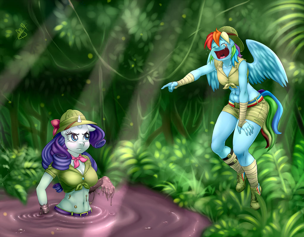 Commission - Dirty Jungle Trip