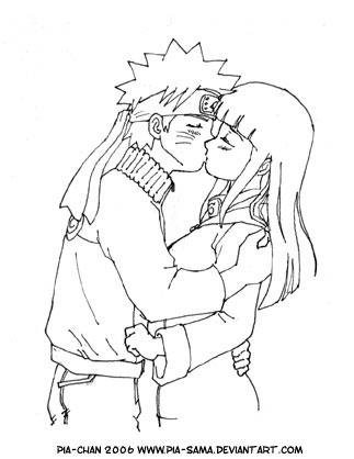 Naruto And Hinata Kiss 2 By Pia Sama On Deviantart