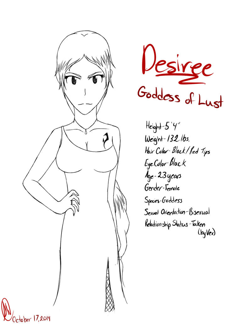 Desiree: Goddess of Lust by Devil-in-the-Mirror