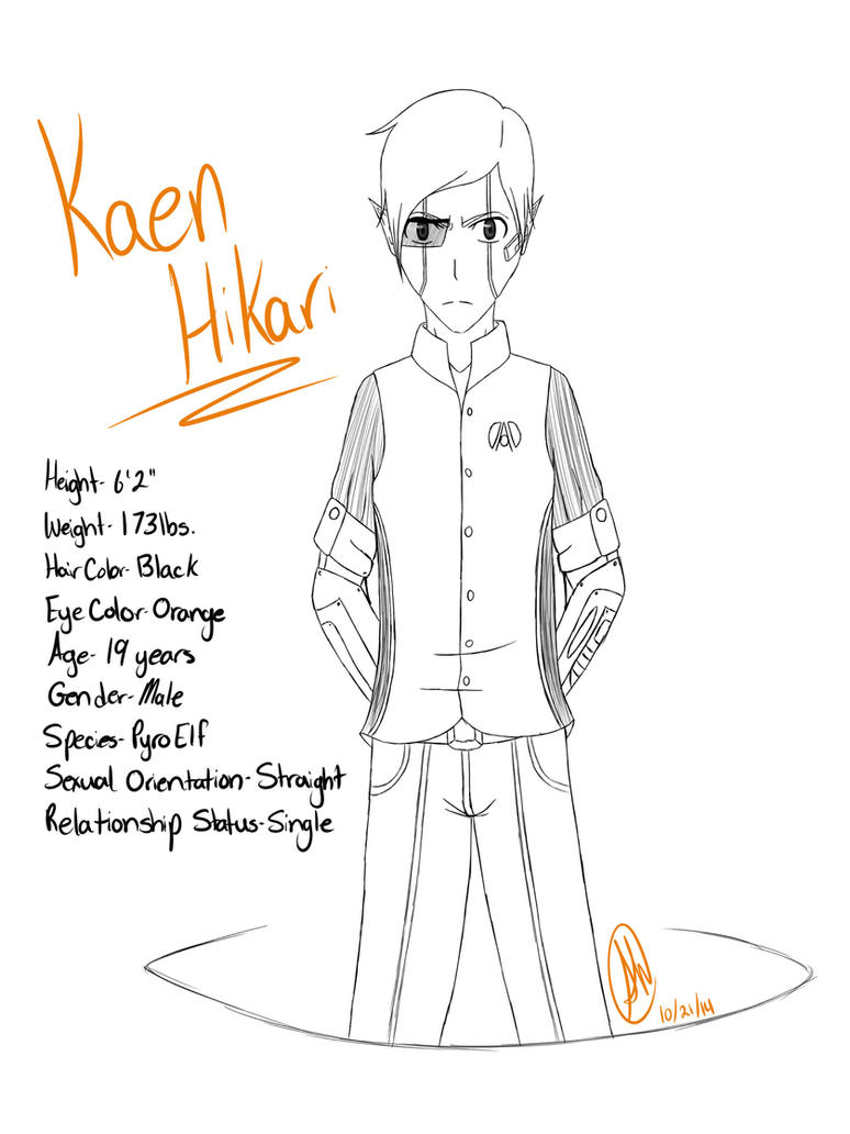 Kaen Hikari by Devil-in-the-Mirror