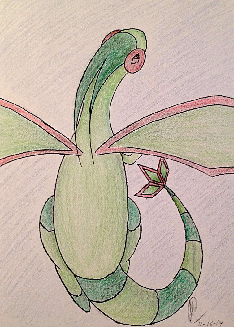 Flygon by Devil-in-the-Mirror