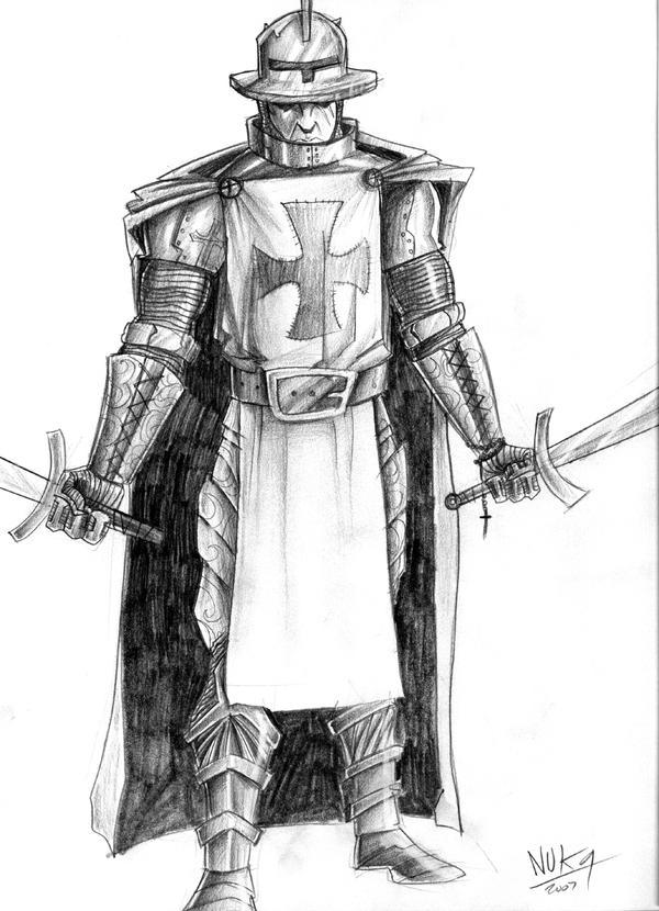 Templar Knight 2 by nuknueve on DeviantArt