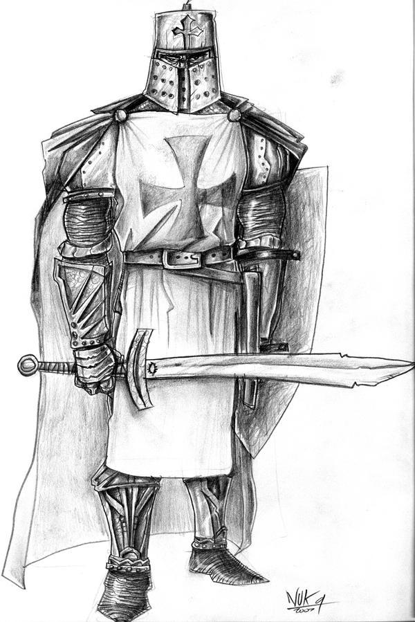 Templar Knight 3 by nuknueve on DeviantArt
