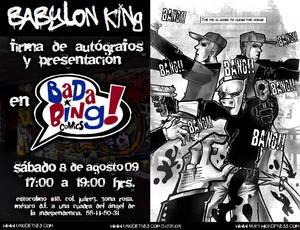 Babylon Tour: BadaBing Comics