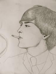 Serious Smoke by baretoedgirl