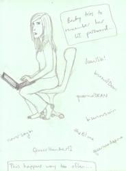 Feminist!Becky by baretoedgirl