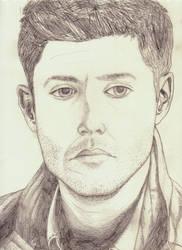 Sad Dean by baretoedgirl