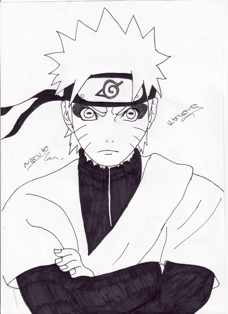 Naruto Sage Mode by V13T2K9 on deviantART