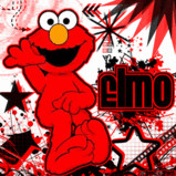 elmo by dracoluvr