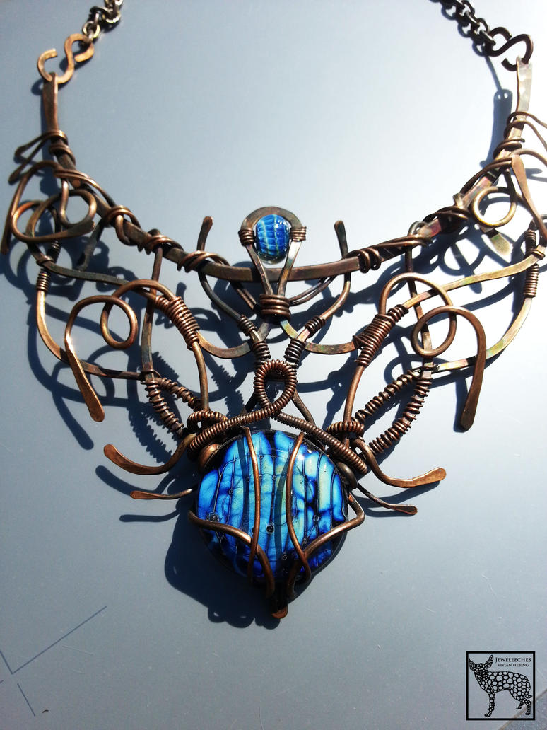 Jeweleeches Vivian Hebing: copper wire jewelry by Jeweleeches on ...