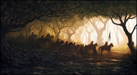 Silent Shadows by andreasrocha