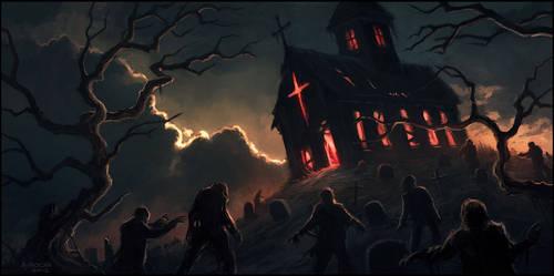 Evil Returns by andreasrocha
