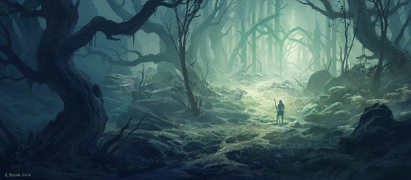 Old Forest B (Patreon IP03) by andreasrocha