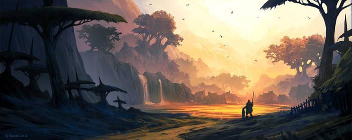 The Hidden Village by andreasrocha