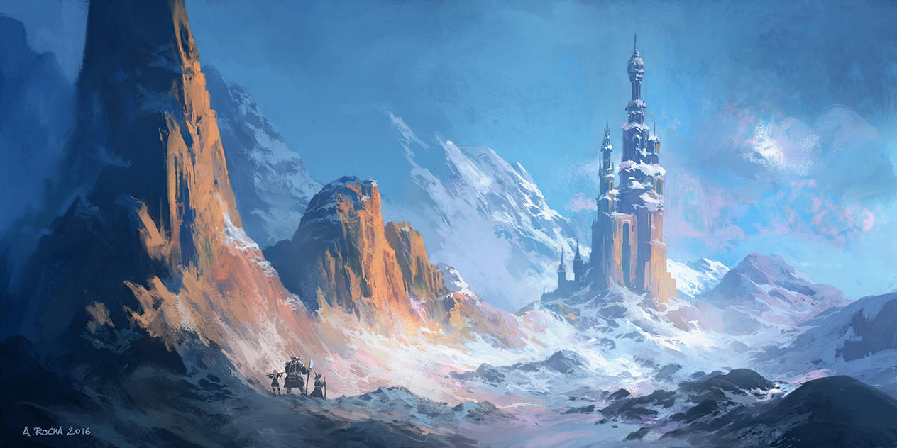 Frozen Keep - Patreon IP08 by andreasrocha