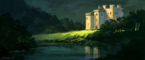 Patreon IP09 - Scottish Castle A by andreasrocha