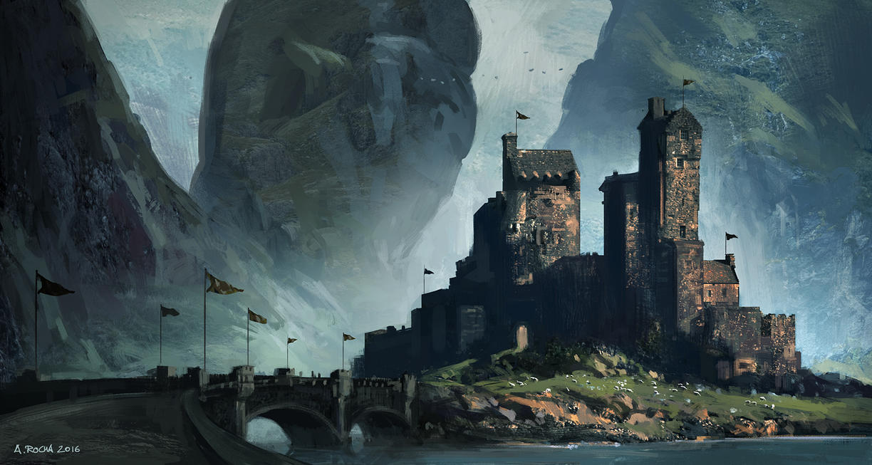 Patreon IP09 - Scottish Castle D by andreasrocha