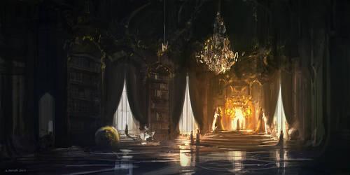 Royal Hall (2nd version) by andreasrocha