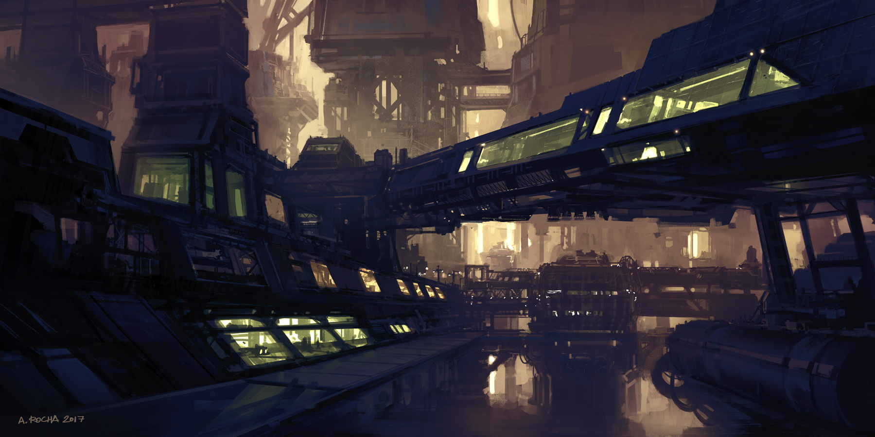 Industrial District by andreasrocha