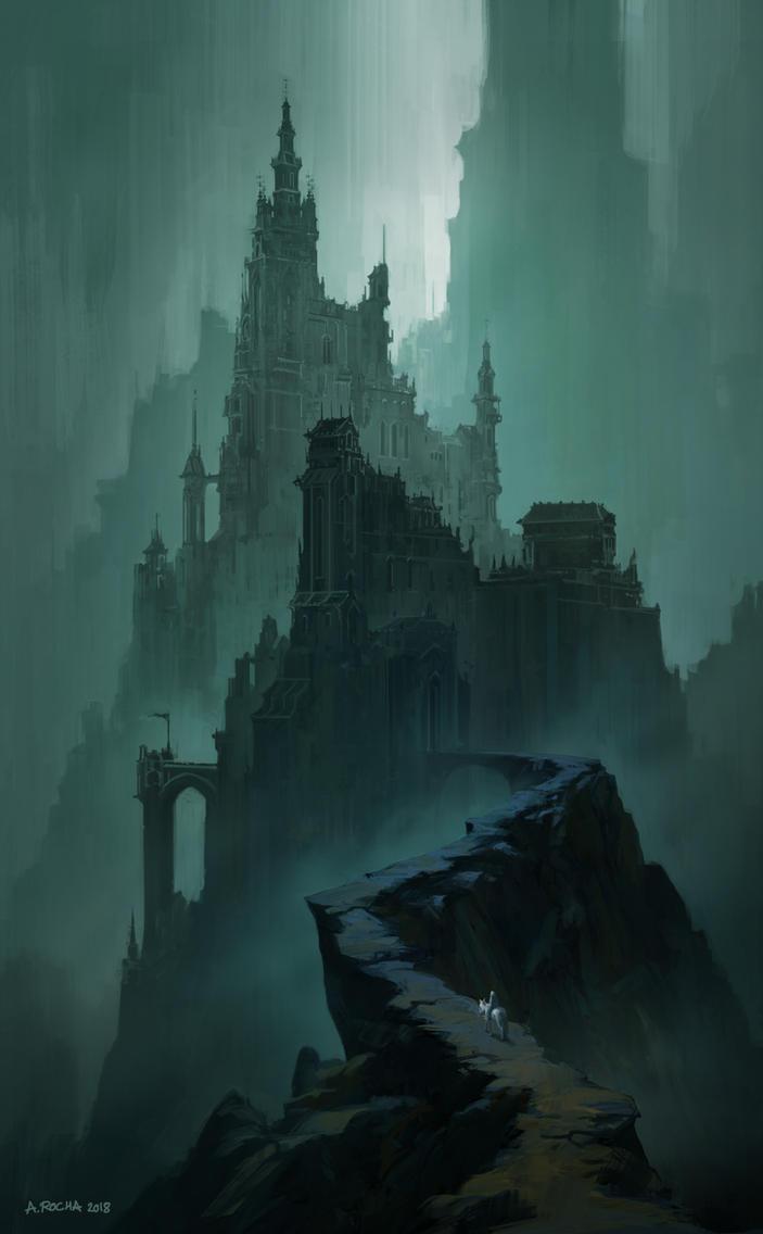 The Dark Citadel by andreasrocha