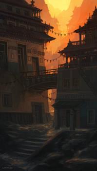 Narrow Paths by andreasrocha