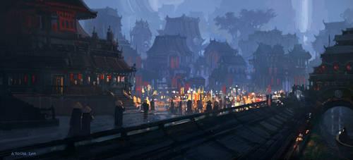 Night Festivities by andreasrocha