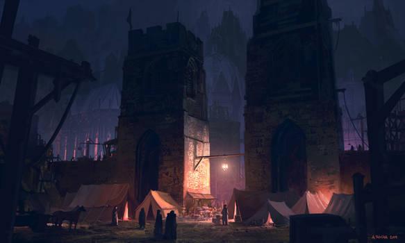 Towering Shadows by andreasrocha