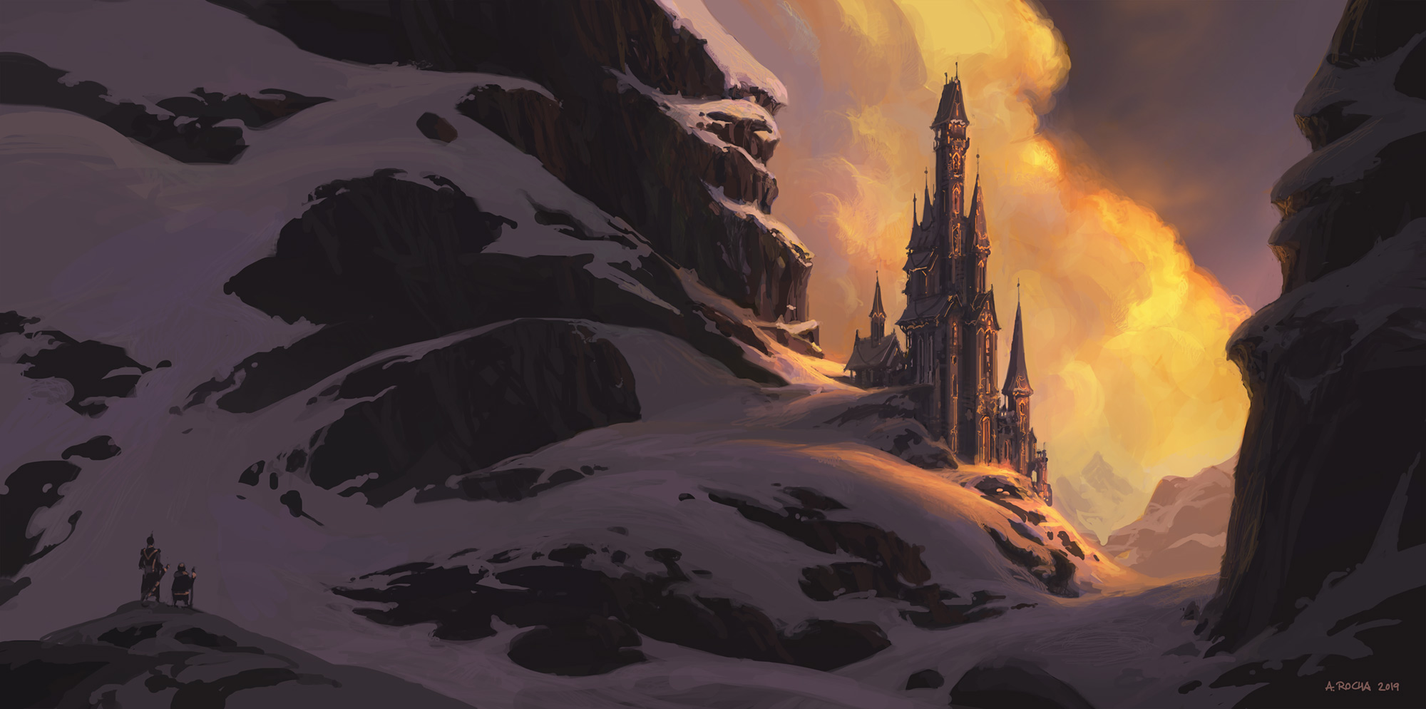 Wizard's Tower III by andreasrocha