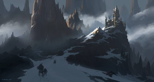 Frozen Pinnacles by andreasrocha