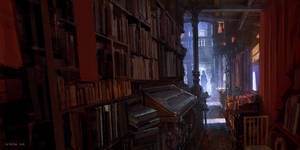 Old Bookshop by andreasrocha