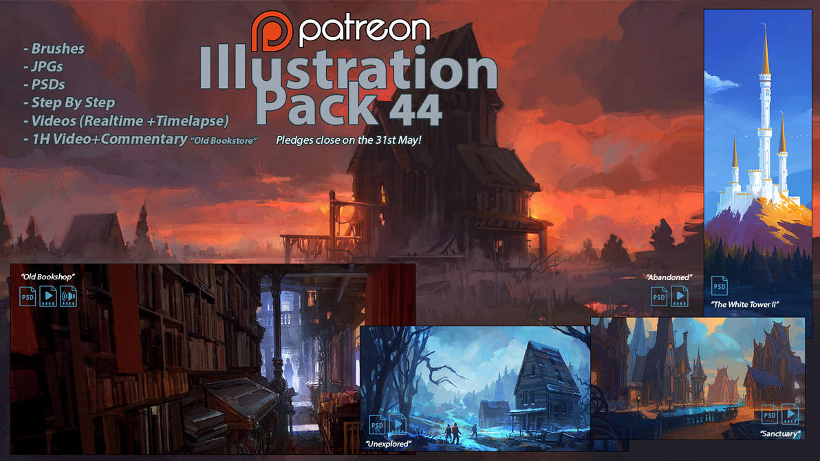 Patreon Illustration Pack 44