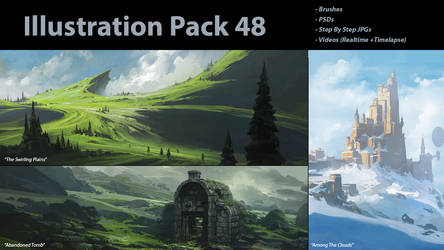 Patreon Illustration Pack 48