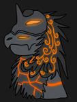 Obsidian Dragon (Headshot)