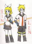 Vocaloid-Kagamine Rin and Len