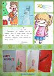 DeviantArt Holiday Card Project ~2013~