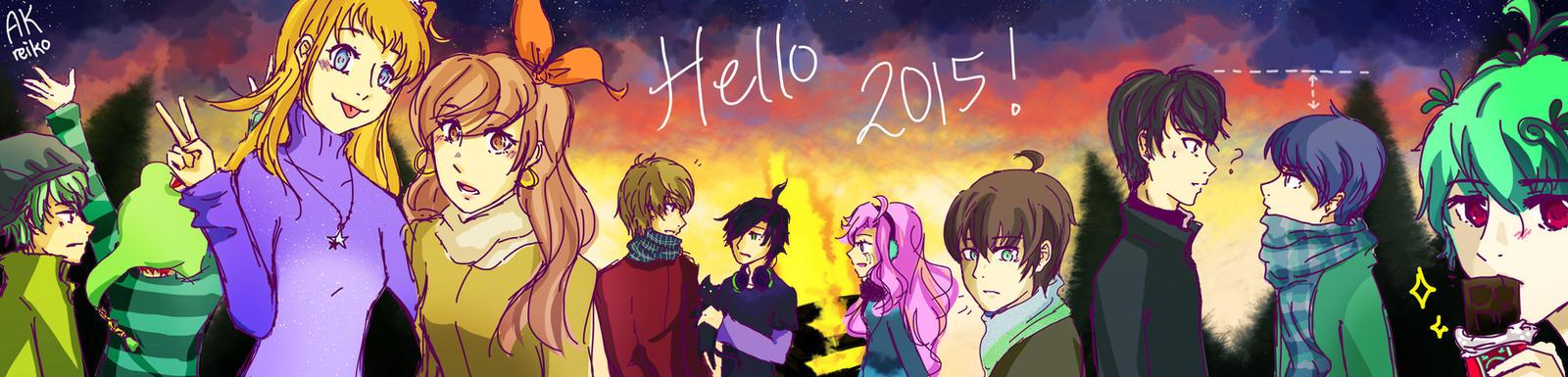Hello 2015! by AKreiko